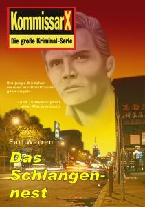 Cover Earl Warren Kommissar X - Das Schlangennest